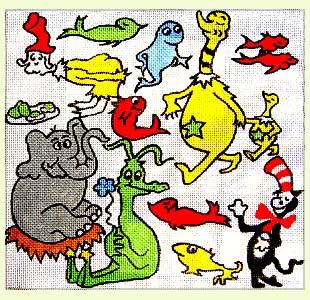 Dr. Seuss Characters design