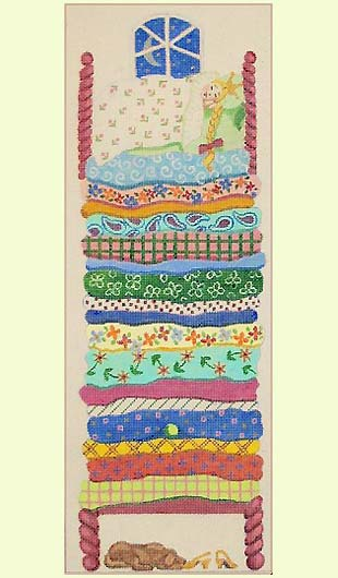 Princess and the Pea design