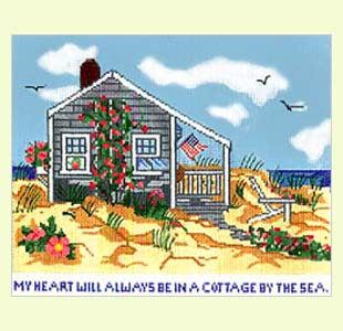 Cottage by the Sea design