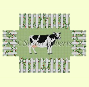 Cow in the Fence design