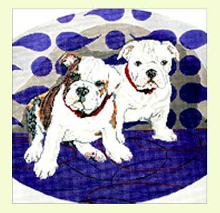Bulldog Pups design