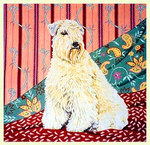 Wheaten Terrier design