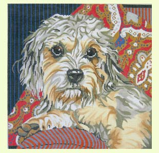 Dandie Dinmont Terrier design