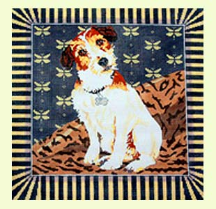 Eddie the Jack Russell design