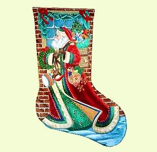 Christmas Santa Delivering design