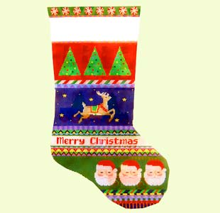 Reindeer Santa design