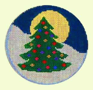 Circle Tree Ornament design