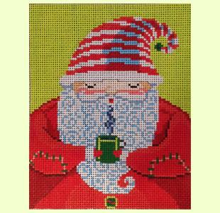 Santa with Mug design