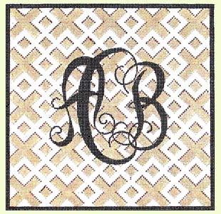 Custom Initials Monogram design