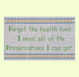 Forget Health Food design