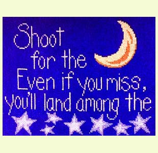 Shoot for the Moon design