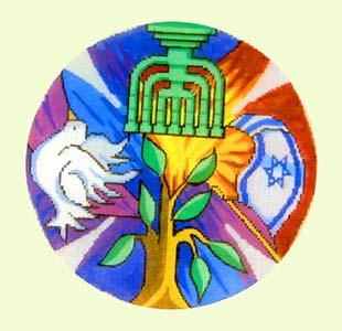 Shalom Yamulke design