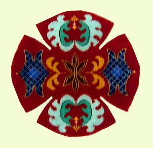 Trellis Yamulke design