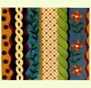 Oriental Stripes and Braids design