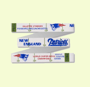 Patriots Belt and other foot ball teams design