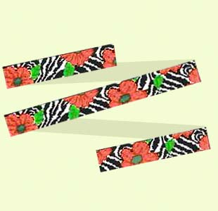 Zebra-and-Poppy design