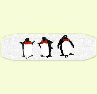 Three Penguins Cummerbund design