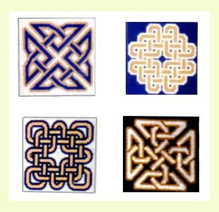 Celtic Knots Coasters design