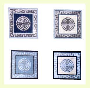 Oriental Coasters design