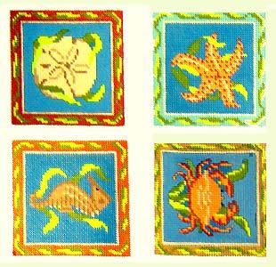 Beach Coasters design
