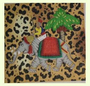 Leopard Elephant design