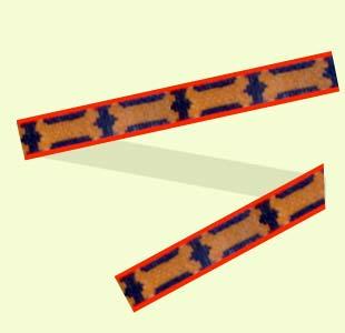 Bones and Stripes design
