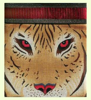 Tiger's eye design