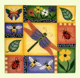 Happy Dragonflies design