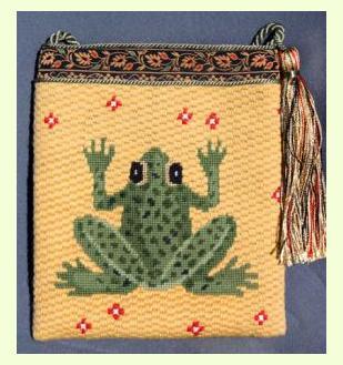 Frog-Purse design