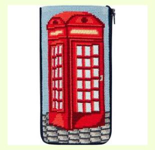 English Phone Booth design