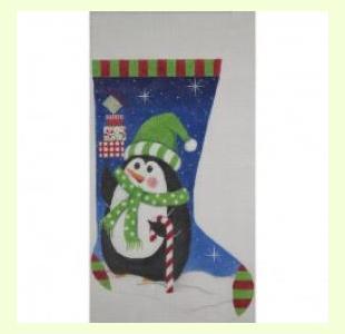 Christmas Penquin Snowman design