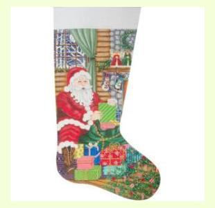 Santa Delivery Stocking design