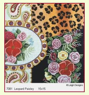 Leopard Paiseley design