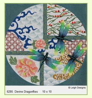 Divine-Dragonflies design
