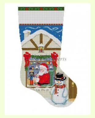 Santa-Workshop-Nutcracker design