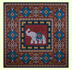 Persian Rug Pillow design