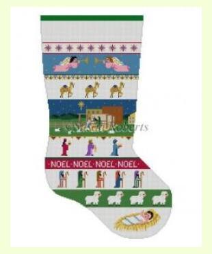 Nativity Stripe design