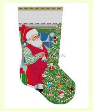 Santa Carrying Toys design