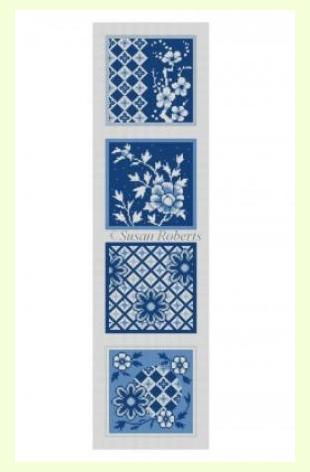 Imari Blue and White design