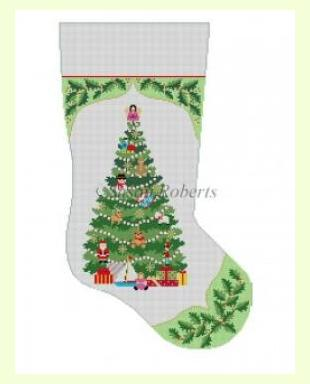 Holly Toy Tree design