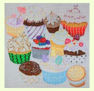 Glorious Cupcakes design