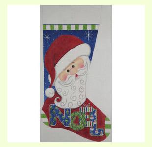 Santa-Noel-Stocking design