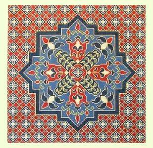 Persian Medallion design