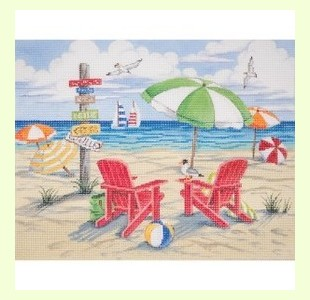 Beach-Scene design