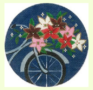 Christmas-Bike-Ornament design