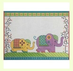 Elephant-Parade-Birth-Announcement design