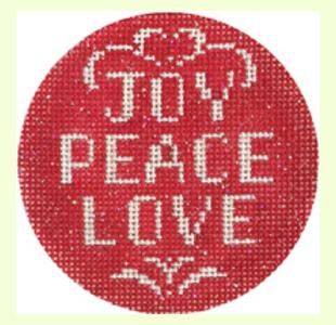 JOY-PEACE-LOVE design