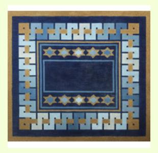 S-Border-Blue design