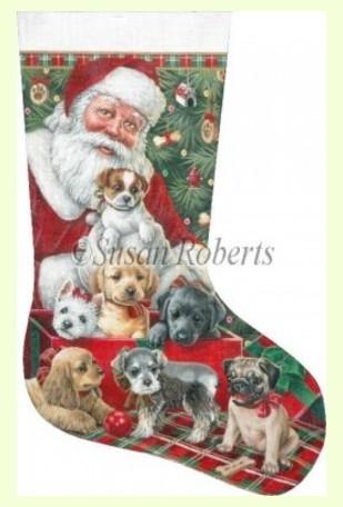 Christmas Puppies design