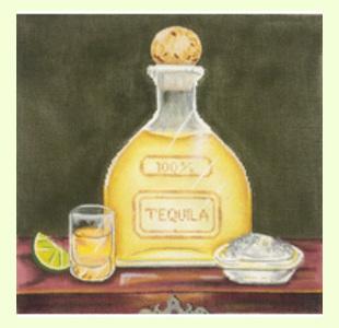Tequila-Bottle design